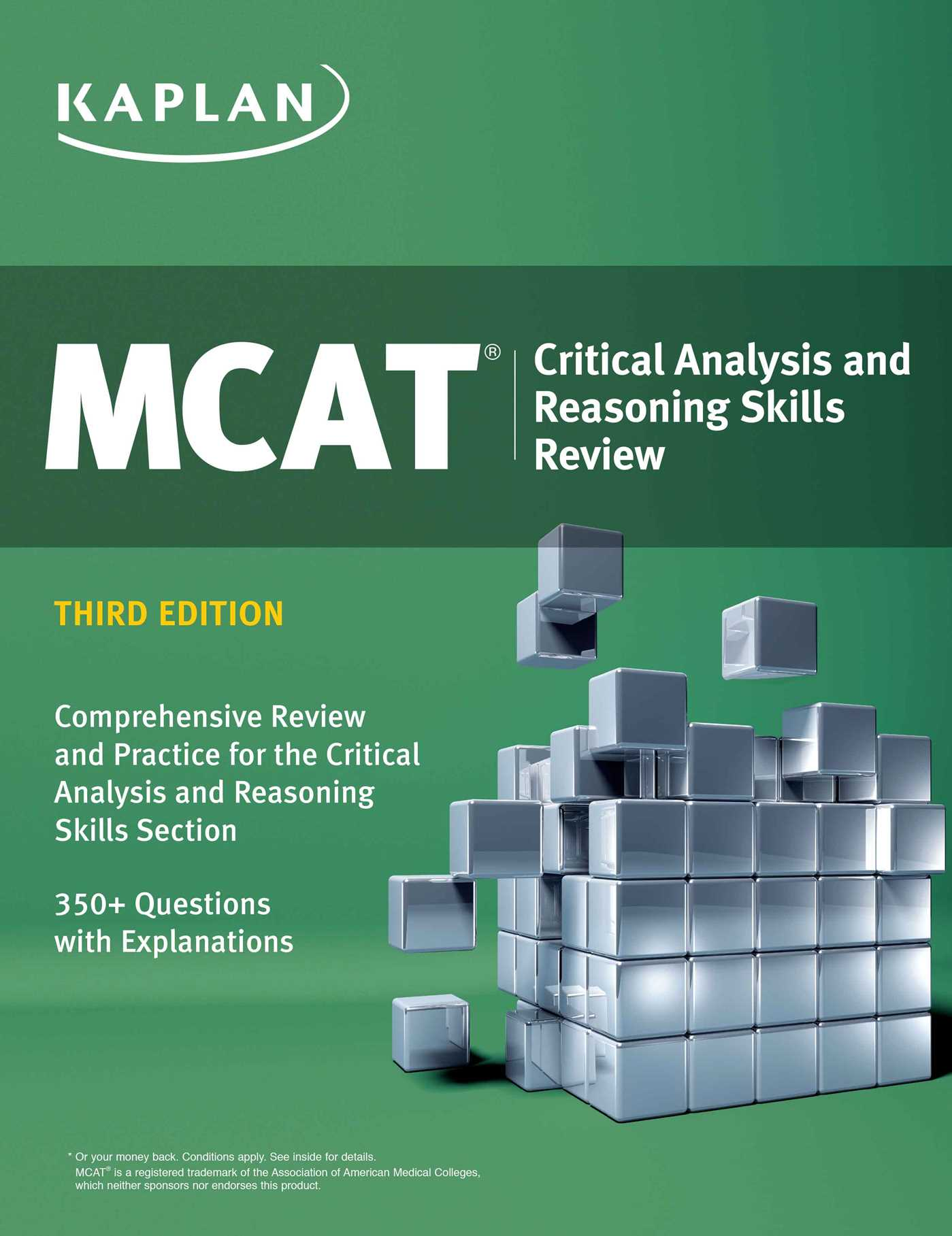 kaplan mcat strategy and critical thinking Mcat section tests your mastery of critical thinking in each of the section areas topics are confluent and strategy point.